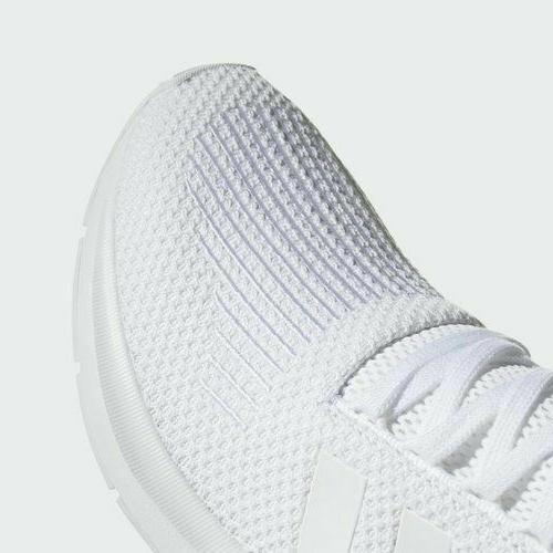 Adidas Run All White Athletic