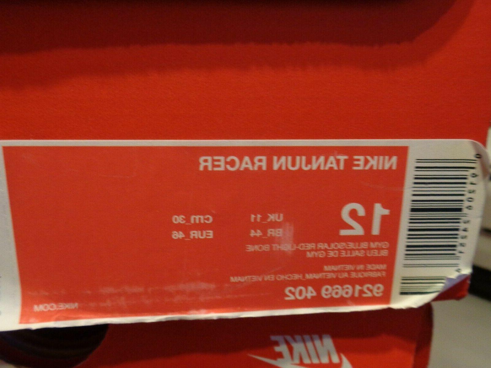Nike Tanjun Racer Running Shoes, Size 12 NWB