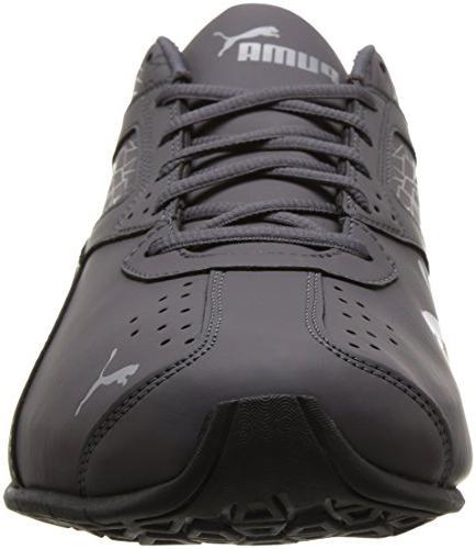 PUMA Men's 6 Fracture Sneaker, Silver, M
