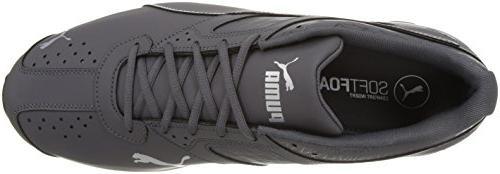PUMA Men's Tazon Fracture Sneaker, Periscope Silver,