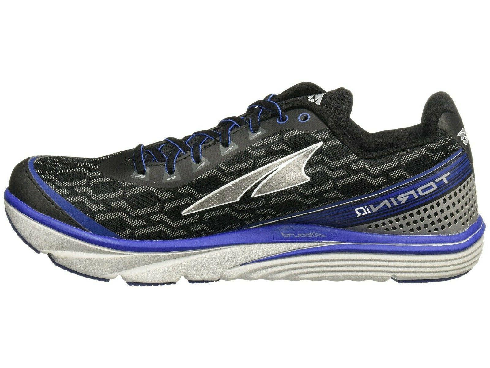 Altra Torin Running Shoes, Size D, Black/Blue