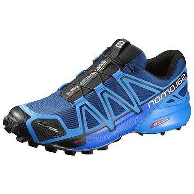 Trail Running Shoes Salomon Speedcross 4 Cs Blue Depth Brigh
