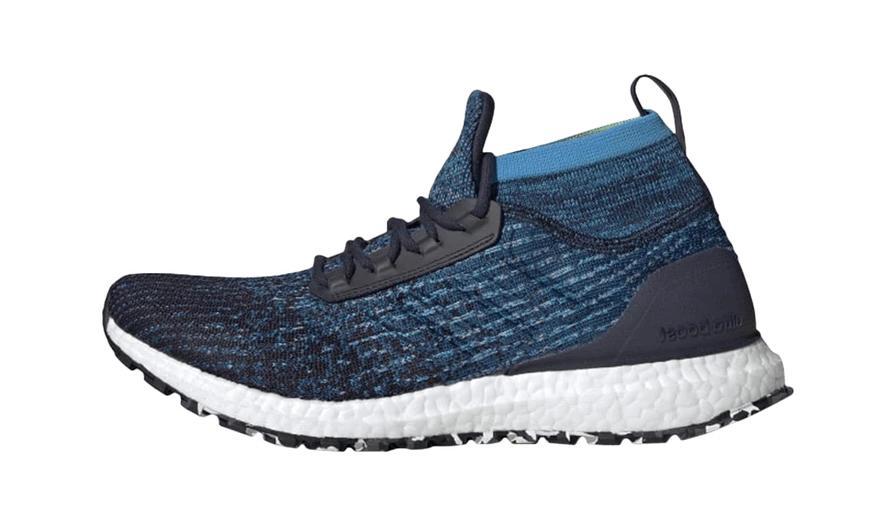 ultra boost all terrain running shoes marine
