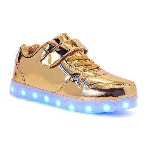 unisex high top led light up shoes