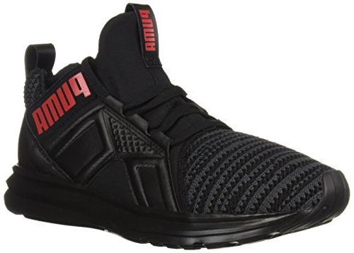 unisex kids enzo jr sneaker black asphalt
