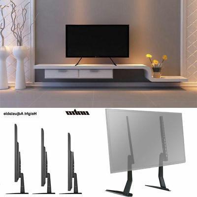 Universal Table Top TV Stand Base VESA Pedestal Flat Screens