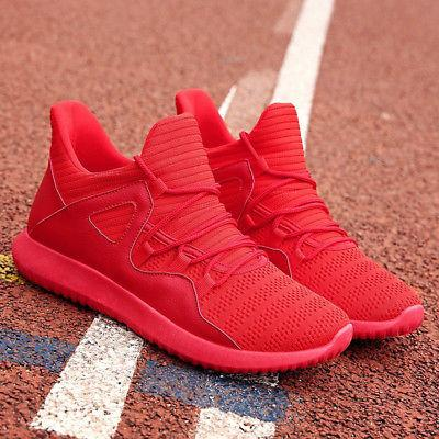 US Men's Running Shoes Breathable Casual Athletic Trainers