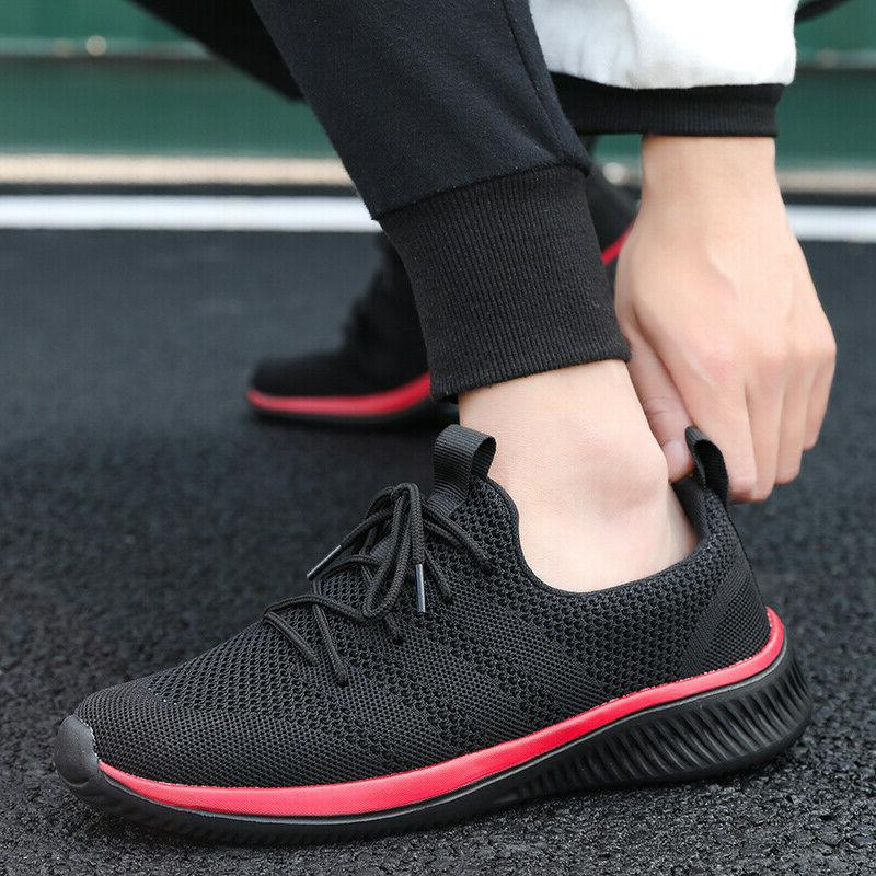US Gym Fitness Shoes Sneakers Lace Breathable New