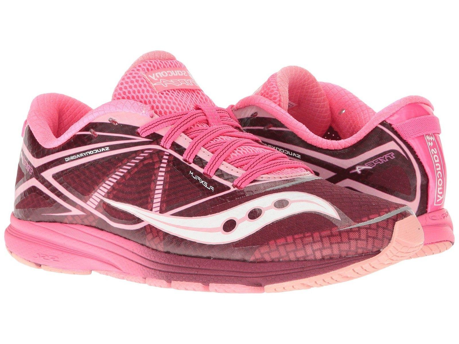 Saucony Women's Type A Running Shoes, Pink/Purple