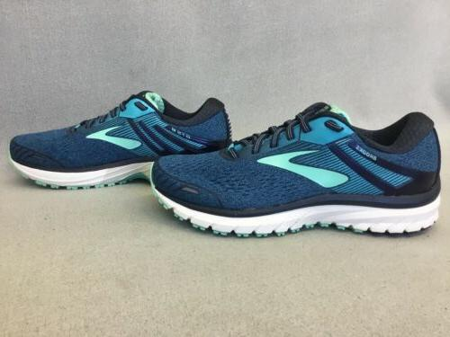 Womens GTS 18 Running Navy/Teal/Mint