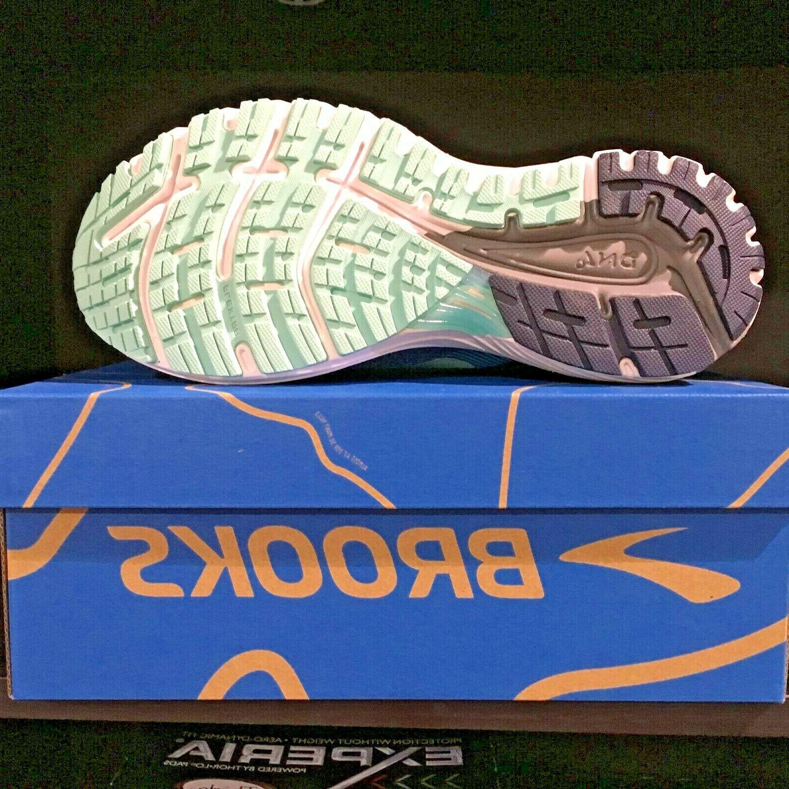 Brooks Womens 18 Running Shoes Teal Mint 495