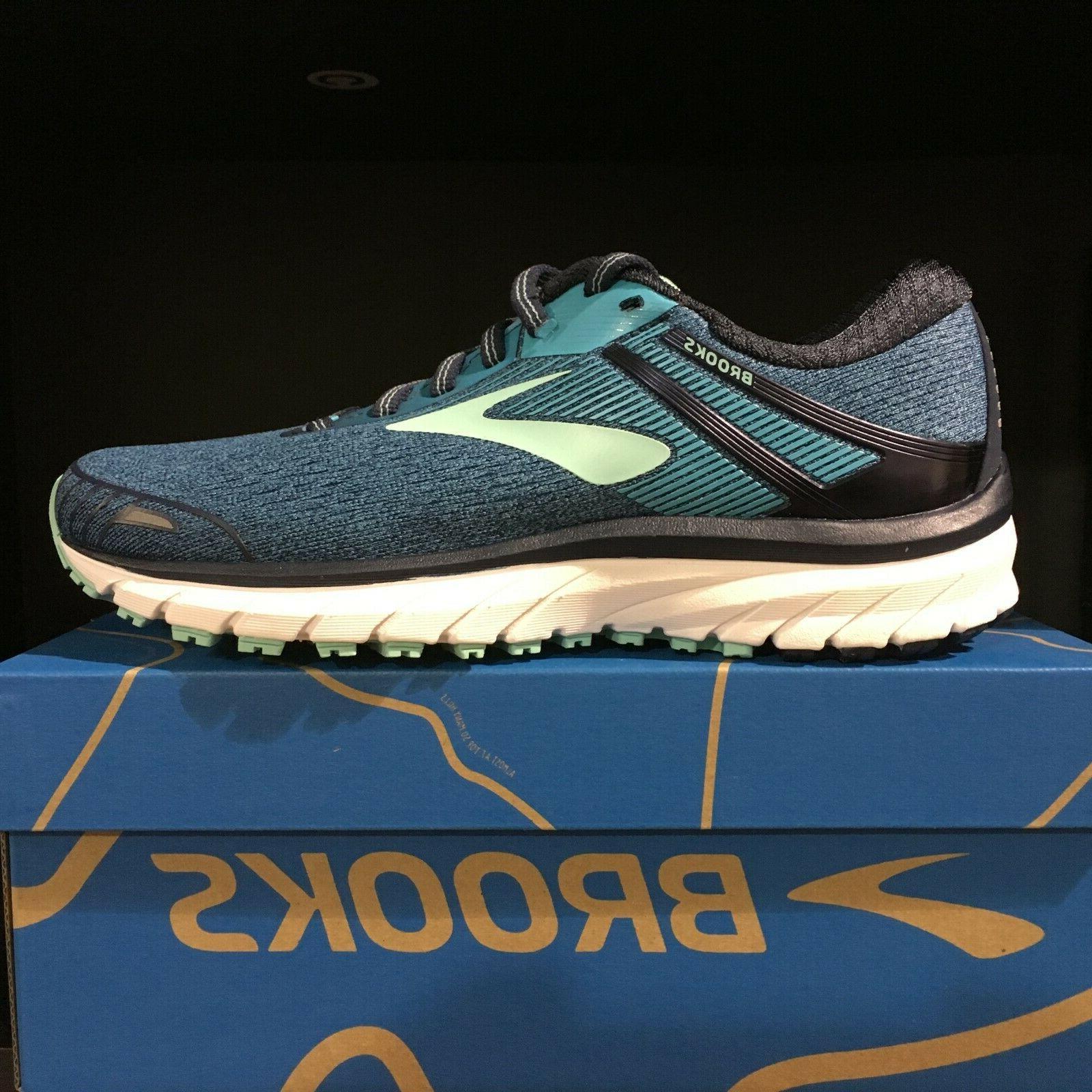 womens adrenaline gts 18 running shoes navy
