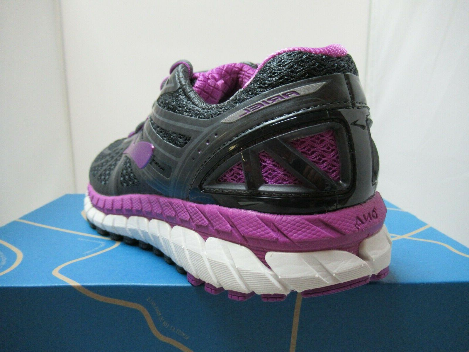 Womens Brooks Ariel 16 Motion Shoes Anthracite