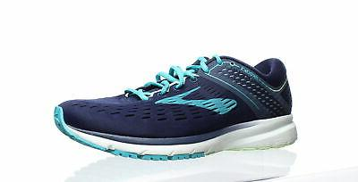 womens ravenna 9 navy blue green running