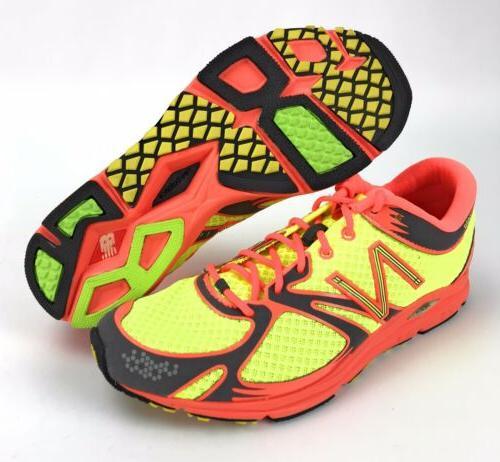 huge selection of db76e 2d266 New Balance Womens RC1400 Hi Viz Yellow Orange Speed Running Shoes Size 9.5  B
