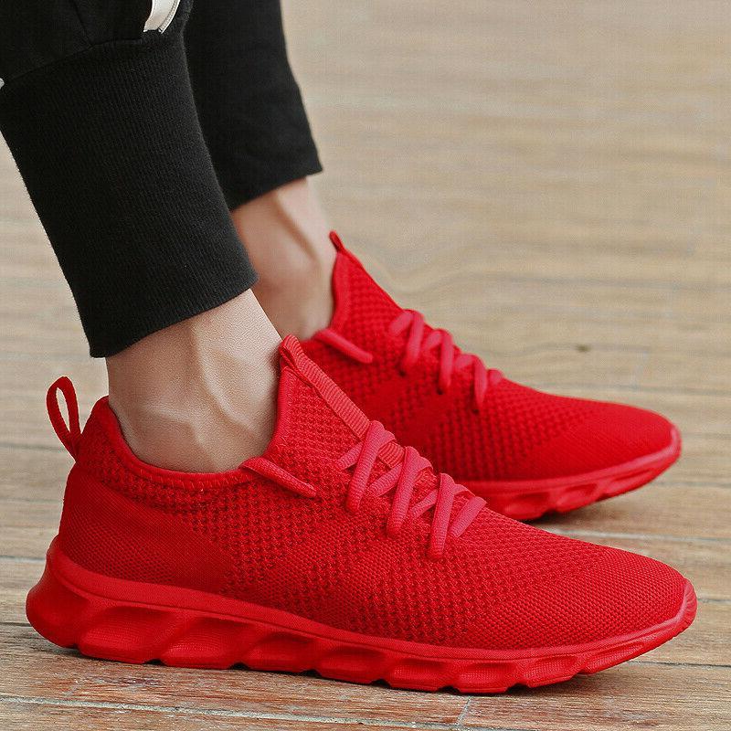 Men's Sneakers Athletic Running Tennis Walking Shoes Gym