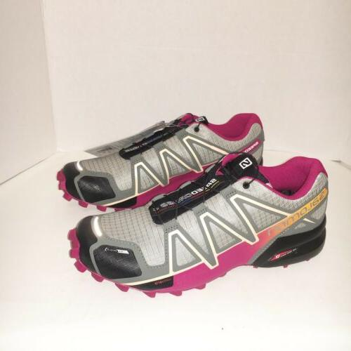 womens sz 10 5 speedcross 4cs shadow