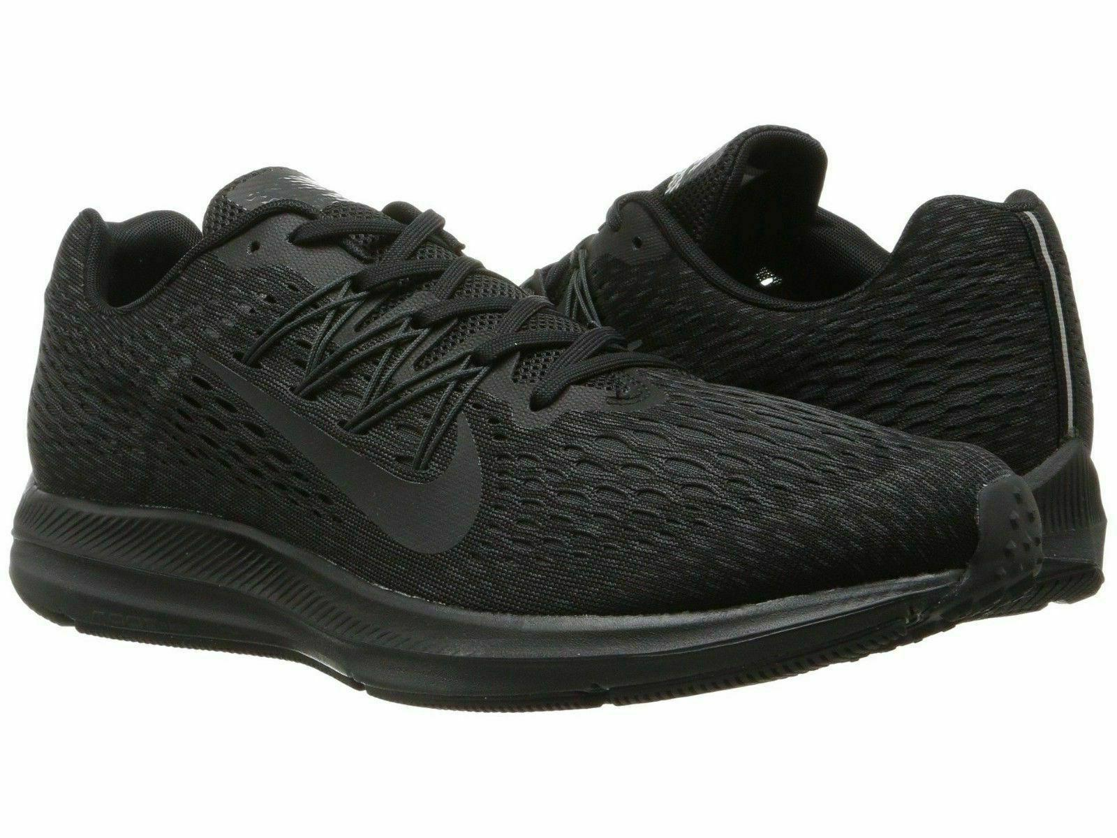 zoom winflo 5 running shoes black anthracite
