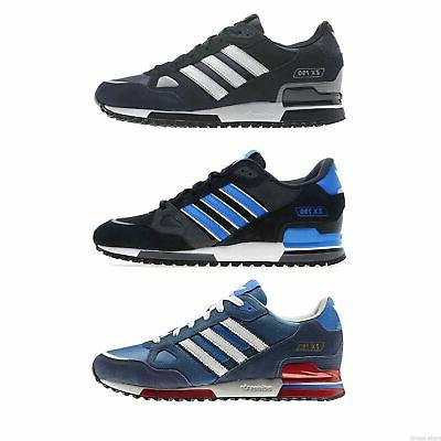 zx 750 mens running trainers blue black