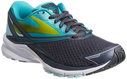 Women's Brooks Launch 4 Running Shoe, Size 6 B - Grey