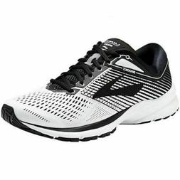 BROOKS LAUNCH 5 RUNNING SHOES NEW MEN'S SIZE 8 WHITE/BLACK/W