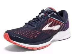 Brooks Launch 5 -Women's Running Shoes Size 6 - Navy/Coral/P