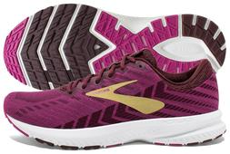 Brooks Launch 6 Women's Aster/Fig/Gold running shoes, mult