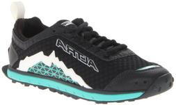 Altra Women's Lone Peak 1.5 Running Shoe,Black/Teal,12 M US