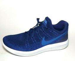Nike Lunarepic Low Flyknit 2 Mens Running Shoes 12 Deep Roya