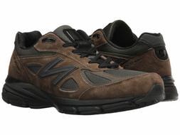 Mens New Balance M990 V4 - Military Green Running Shoe