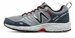 New Balance Male Men's 573 Trail Mens Running Shoes Grey Wit