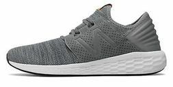 New Balance Men's Fresh Foam Cruz v2 Knit Shoes Grey with Gr