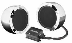 "Boss MC720B 4"" 1000W Full Range Motorcycle ATV Bluetooth Aud"