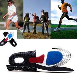 Memory Foam Insoles Orthotic Arch Support Sport Running Shoe