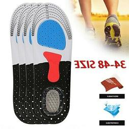 Men Basketball/Soccer Running Shock Absorbing Shoes Insoles