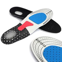Men Gel Orthotic Sports Running Insoles Insert Shoe Pad Arch
