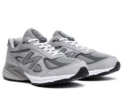 New Balance Men's 990 Running Shoes Grey Nubuck - M990IG4