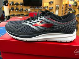 Men's Brooks Addiction 13 Running Shoes Black/Red
