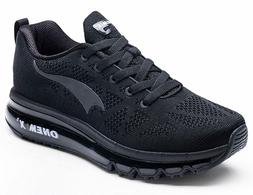 ONEMIX Men's Air Cushion Running Shoes, Casual Athletic Snea
