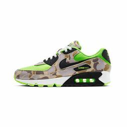 Nike Men's Air Max 90 Ghost Green Duck Camo Volt Atmos Runni