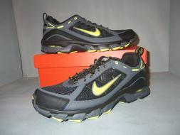 Men's Nike Air Trail Ridge Trail Running Shoes Black NIB  si