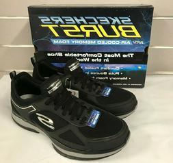 Skechers Men's Burst Athletic Running Sneaker Shoes 52610 BL