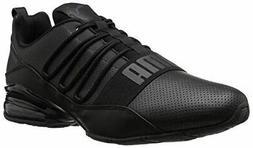 PUMA Men's Cell Regulate SL Sneaker, Black-Dark Shadow, 10.5