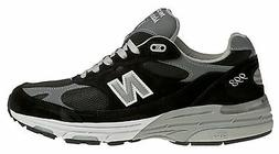 New Balance Men's Classic 993 Running Shoes Black with Grey