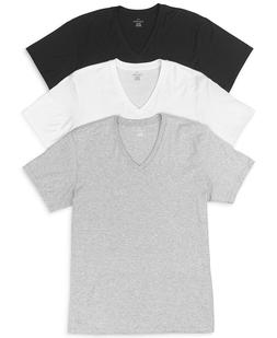 Calvin Klein Men's Cotton Classics Short Sleeve V-Neck T-Shi