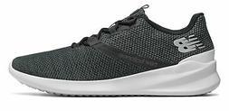 New Balance Men's CUSH+ District Run Shoes Black with Grey
