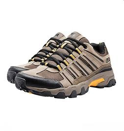 Fila Men's Day hiker Trail Running Athletic Shoes Brown/Blac