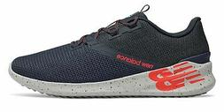 New Balance Men's CUSH+ District Run Shoes Navy with Red