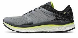 New Balance Men's Fresh Foam 1080v8 Shoes Grey with Black &