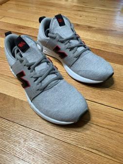 New Balance Men's Fresh Foam Sport V1 Shoes Grey with black